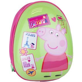 Mochila Escolar 14 De Moda Peppa Pig Pp51918b Verde Urbania