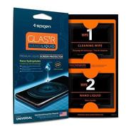 Protector iPhone Cristal Liquido Spigen Nano Liquid 9h Usa