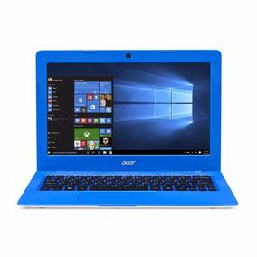Notebook Acer Branco/azul Intel Celeron 32gb/2gb De Ram
