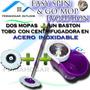Trapero Giratorio Spin And Go Pro Mop Evolution Con 2 Mopas
