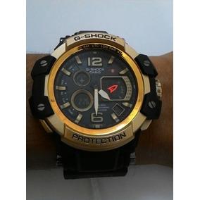 ccc829a0a03 Relógio G-shock Red Bull Dourado preto+ Caixa + Frete Grátis