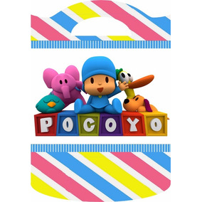 Bolsitas Golosineras Cumples Infantiles!!! Pocoyo!!