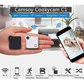 Micro Mini Camera De Espionagem Via Celular - 4x4x1,5cm