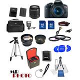 Kit Canon T6i 750d Con Tres Lentes