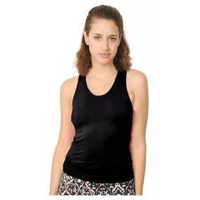 Musculosa Morley Elastizado, Espalda Encaje, Brishka L-0001