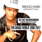 Entradas Bruno Mars. Platea Preferencial