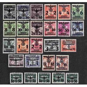 Grc105 - Selos Alemanha Mi#14/39 Governo Geral Novos 266 Eu