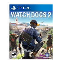 Juego Ps4 Ubisoft Watch Dogs 2