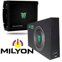 Combo Amplificador Monster 2 Canales + Sub Woofer Slim 1000w