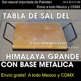 Tabla Sal Himalaya Trc22 Grande Y Base Metalica Envio Gratis