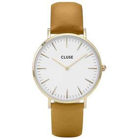 a00dc3e8ebe Relógio Cluse La Bohème Gold White Mustar - 221720