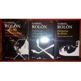 Lote X3 Libros Gabriel Rolon