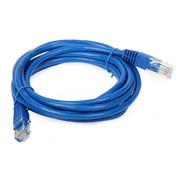 Cable De Red Patchcord 3 Metros Utp Armado Lan Cat. 5e Rj45