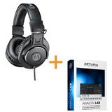 Auricular Audiotechnica Ath-m30x + Arturia Analog Lab Lite 3