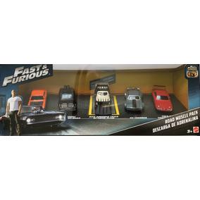 Rapido Y Furioso 8 Mattel 2017 Kit 5 Vehiculos Usa 1.55