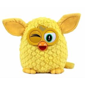 Pelúcia Furby Amarelo - Famosa - Novo Colecionável