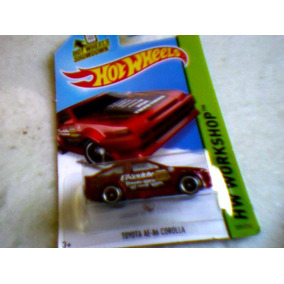 Hot Wheels 2015 Toyota Ae-86 Corolla - Lacrado