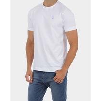Promoção Camiseta Aleatory Básica Branca Estilo Slim Fit
