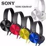 Fone Ouvido P2 Sony Mdr-xb450ap Headphone Extra Bass Celular