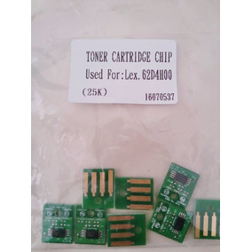Chip Lexmark 62d4h00 / 624h Mx-710/711/810/811/ (25k)