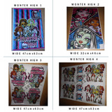 Monster High- Afiche Para Piñata- Cotillon