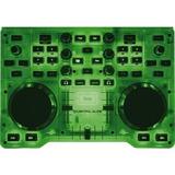 Consola Hercules Dj Glow Mixer Controlador Luz Led Y Efectos