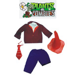Disfraz Artesanal Zombie Plantas Vs Zombies A Medida