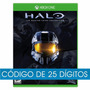 Halo The Master Chief Collection Xbox One Código 25 Digitos