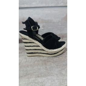 Sapato Feminino Preto Camurça