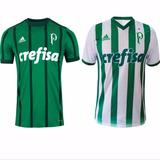 2 Camisas Do Palmeiras 2017 Temporada Nova E Frete Grátis