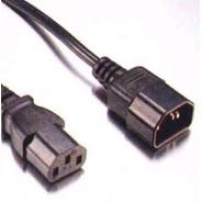 Puntotecno - Cable De Poder C13 C14 - Extensión De 1,5 Mts