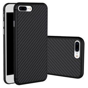 Iphone 8 Plus - Nillkin Funda Fibra Carbono + Policarbonato