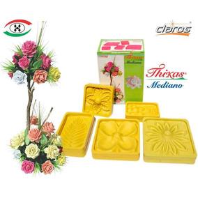 2 Kits Moldes Para Hacer Flores De Foamy Medianas Y Antifaz