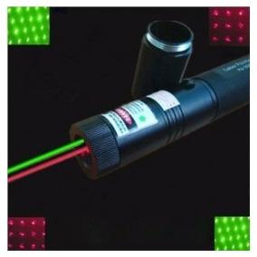 Laser Multi Verde/rojo Puntero Laser Con Bateria Y Cargador