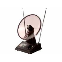 Antena Mini Parbólica Para Uhf Vhf Fm
