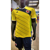 Camiseta Original Selección Colombia Talla L + Envio Gratis