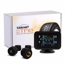 Monitorização De Pressão Pneus 4 Sensores Externo Sem Fio