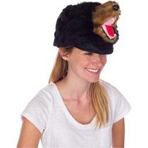 Disfraz Niño Oso Negro Rittle Peludo Sombrero Animal, Reali