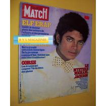 Michael Jackson Revista De Francia Paris Match 1984