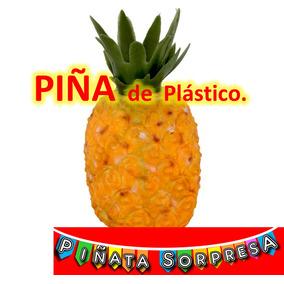 Piña Plástico Comida De Juguete Replica Escenografía Prop