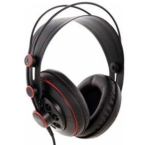 Fone De Ouvido C/fio Profissional Super Lux Hd 681 Over Ear