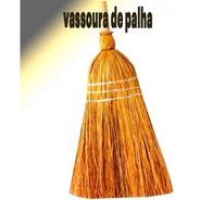 Vassoura De Palha Caipira Com Cabo Vassoura De Bruxa