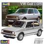 Vw Golf 1 Gti Revell 7072 Maqueta Auto P/ Armar 1/24 L Plata