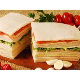 Sándwich De Miga Triples De Copetin