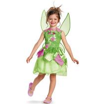 Disfraz De Campanita Disney Clásica Disguise Niña Xs (3t-4t)