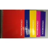 Libreta Cuaderno 6 Materias Cromobook Una Linea