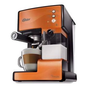 Cafetera Express Oster Primalatte Bvstem6601c Color Caramelo