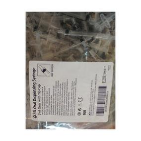 Becton Dickson Bd Jeringa Oral Claro 100 / Caja 3ml Por Bect