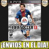 Fifa 13 Fifa Soccer Ps3 Juego Playstation 3 Stock