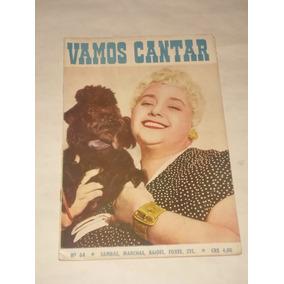 Revista Vamos Cantar Nº 64 - 1956 - Samba / Marcha / Letra